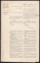 Gent: Sint-Salvatorstraat: cinema Nord: bouwdossier, 1919