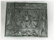 Gent: Blandijnberg 2: universiteit: reliëf: septem artes liberales, 1979