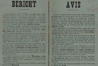 Bericht | Avis