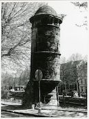 Gent: Isabellakaai: Wachttoren, 1980