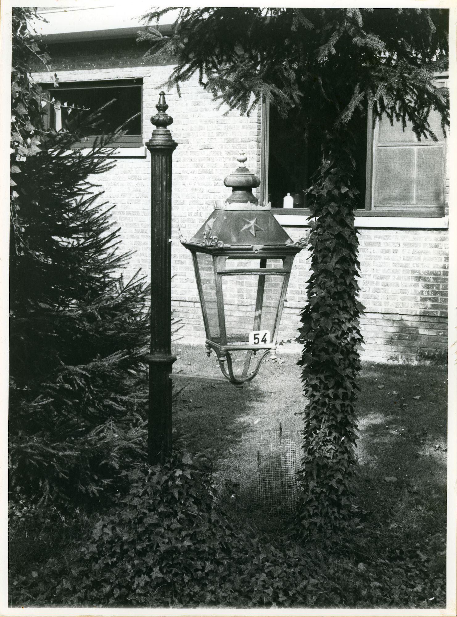 Sint-Denijs-Westrem: Drie sleutelsstraat 54: Lantaarn, 1979