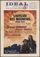 Brigham Young   L'Odyssée des Mormons   De zwerftocht der Mormonen, Ideal, Gent, 12 - 18 augustus 1949