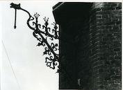 Gent: Oude Houtlei: Lantaarnhouder
