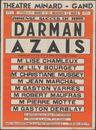 Immense succes de rire Darman Azais,Théâtre Minard - Gand , Gent, 11 maart - 12 maart 1947