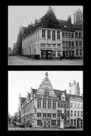 Gent: Sint-Jorishof, hoek Botermarkt en Hoogpoort