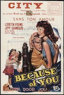 Because of You | Sans ton amour | Alleen door jou, City, Gent, 4 - 10 september 1953