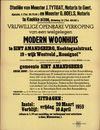 """Vrijwillige openbare verkoop van een welgelegen modern woonhuis te Sint-Amandsberg, Nachtegaalstraat, nr.19 - wijk Westveld """"Rossignol"""", Gent, 10 april 1959"""