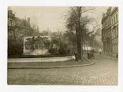 Gent: François Laurentplein: monument voor François Laurent, 1915-1916
