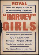 Harvey Girls, Royal, Gent, 18 - 24 april 1947