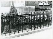 Gent: Vaderlandstraat 46: Hek, 1979