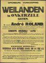 Openbare verkoop van weilanden te Onkerzele Gaver, Gent, 23 oktober 1940