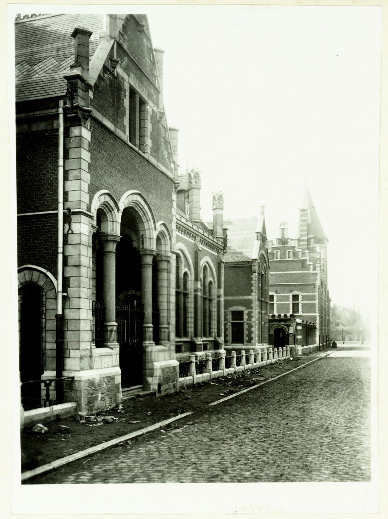 Gent: Apotheekstraat: Klinieken der Universiteit (Rommelaere-complex)