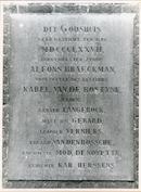 Sint-Amandsberg: Antwerpsesteenweg: Gedenksteen, 1979