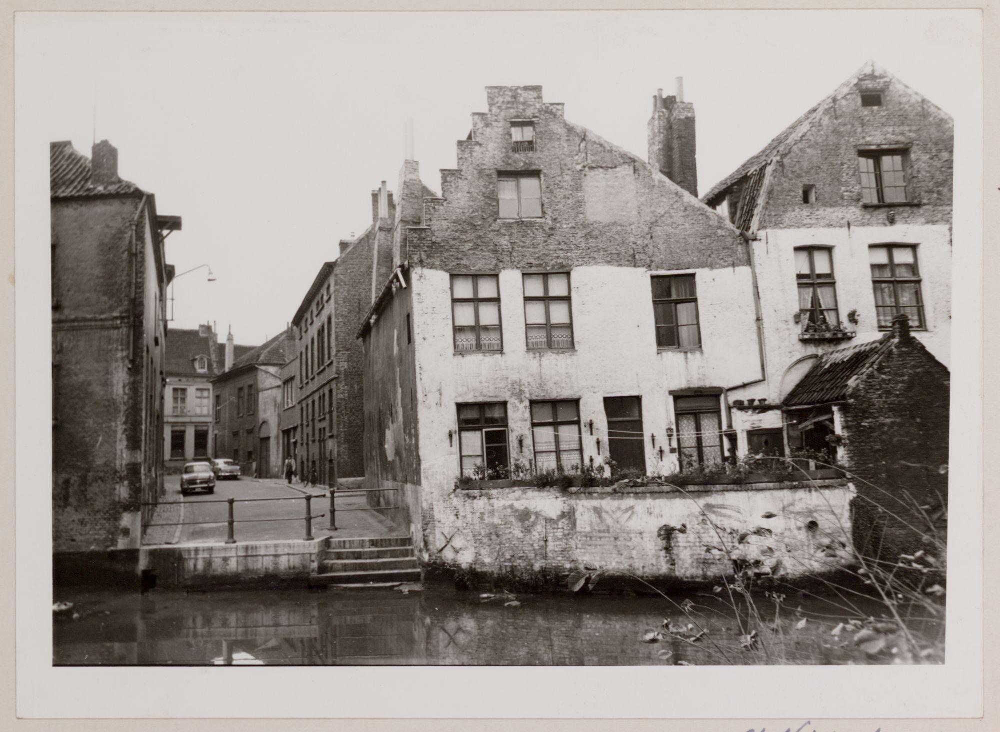 Gent: Achtergevels van de Sint-Widostraat