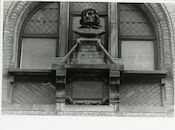 Gent: Belfortstraat: buste: Frans Ackerman, 1979