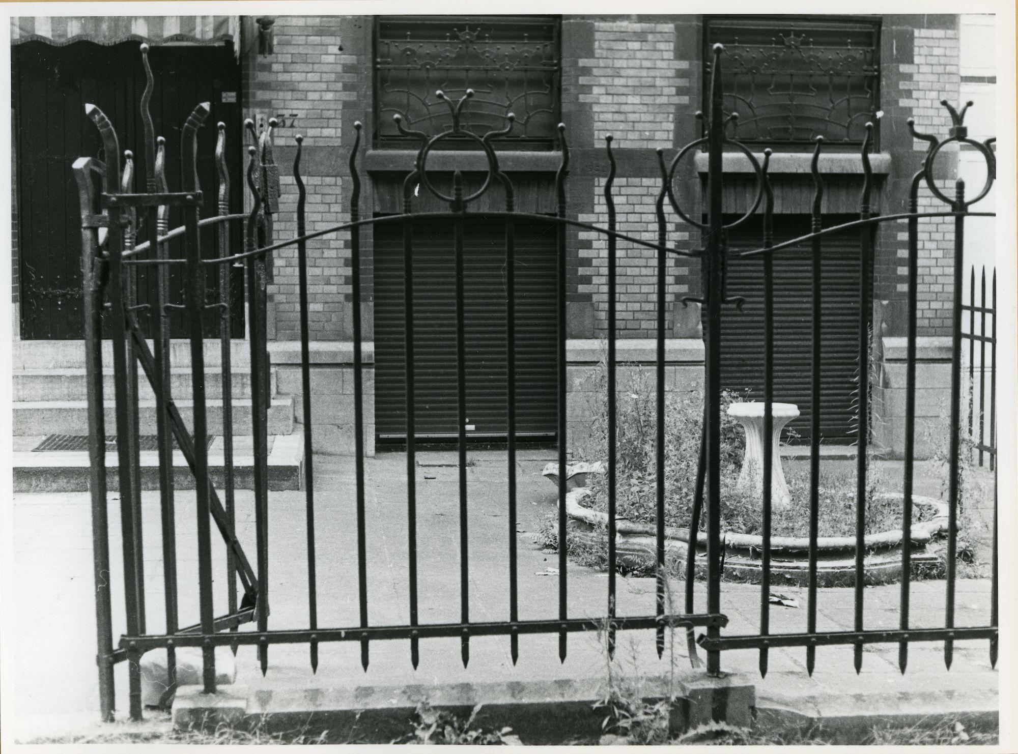 Gent: Parklaan 37: Hek, 1979