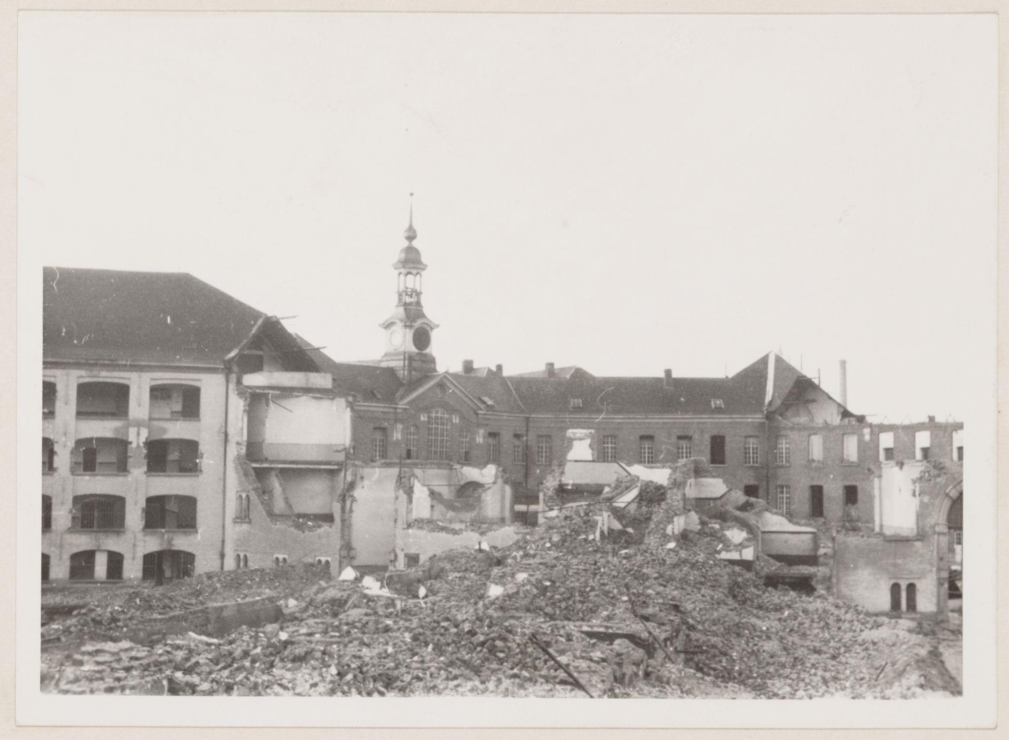 Gent: Rasphuis (gevangenis), Coupure