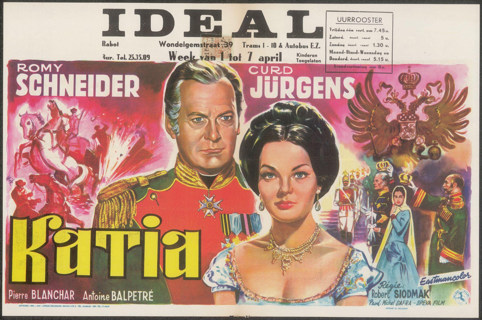 Katia, Ideal, Gent, 1 - 7 april, 1960