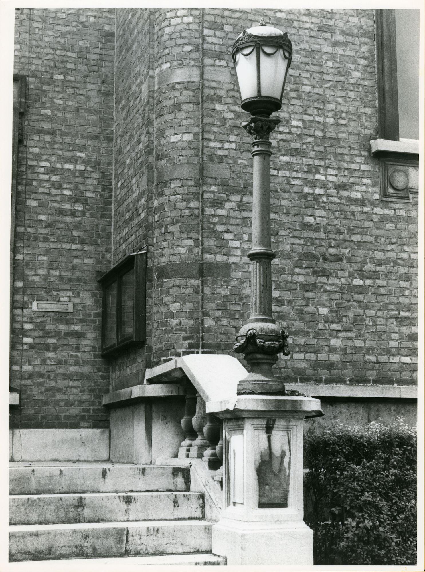 Gentbrugge: Braemkasteelstraat: Lantaarn, 1979