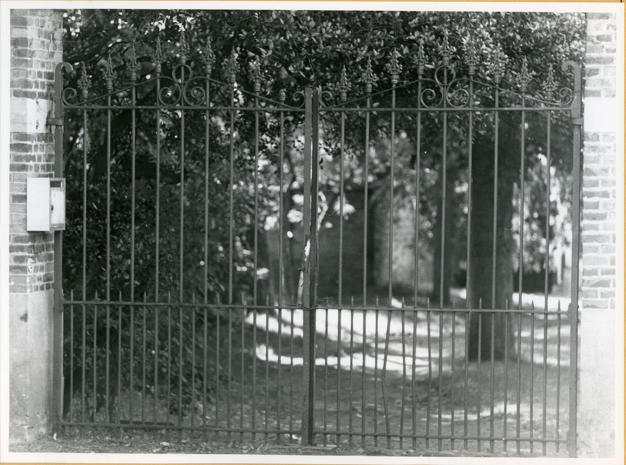 Gent: Patijntjesstraat 177: Hek, 1979
