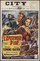 The Golden Hawk | L'épervier d'or | De gouden havik, City, Gent, 17 - 23 juli 1953