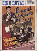 Le secret de Charlie Chan, Ciné Royal, Gent, 14 - 20 juli 1939