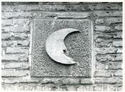 Gent: Zilverhof 1: Beeldhouwwerk, 1979