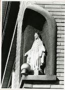 Gent: Korenbloemstraat 20: Gevelbeeld, 1979
