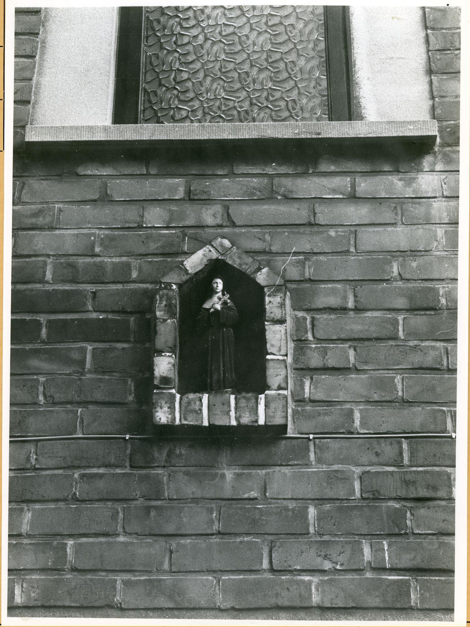 Wondelgem: Westergemstraat 8: Gevelbeeld, 1979