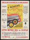 1er Rallye national Police (Communale et Rurale) - Police, Judiciaire, Gendarmerie / Politie (Agenten en Veldwachters), Gerechtelijke politie - Rijkswacht, Luik, 5 mei - 6 mei 1956