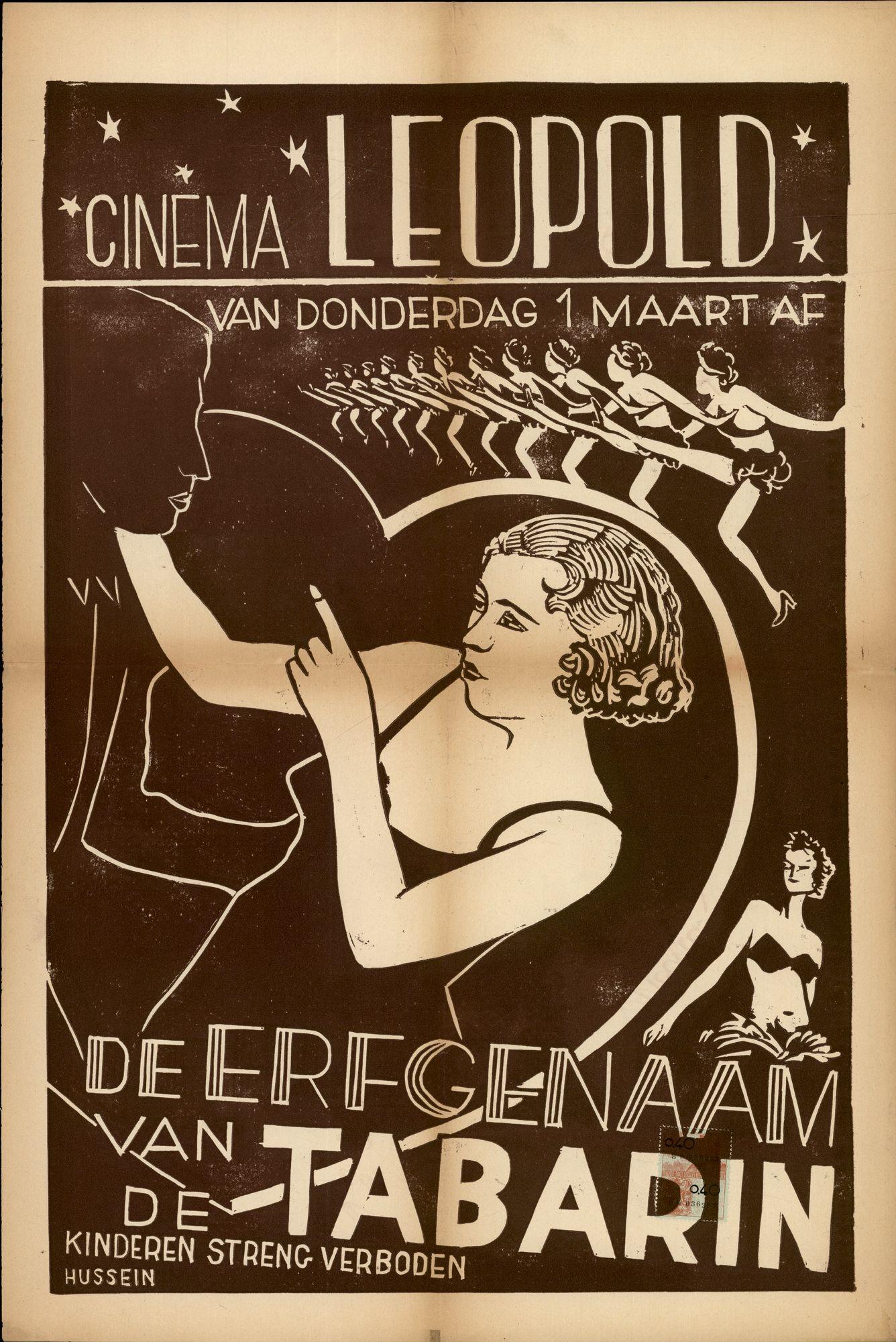 De Erfgenaam van de Tabarin | Cinema Leopold, Gent, vanaf 1 maart 1951