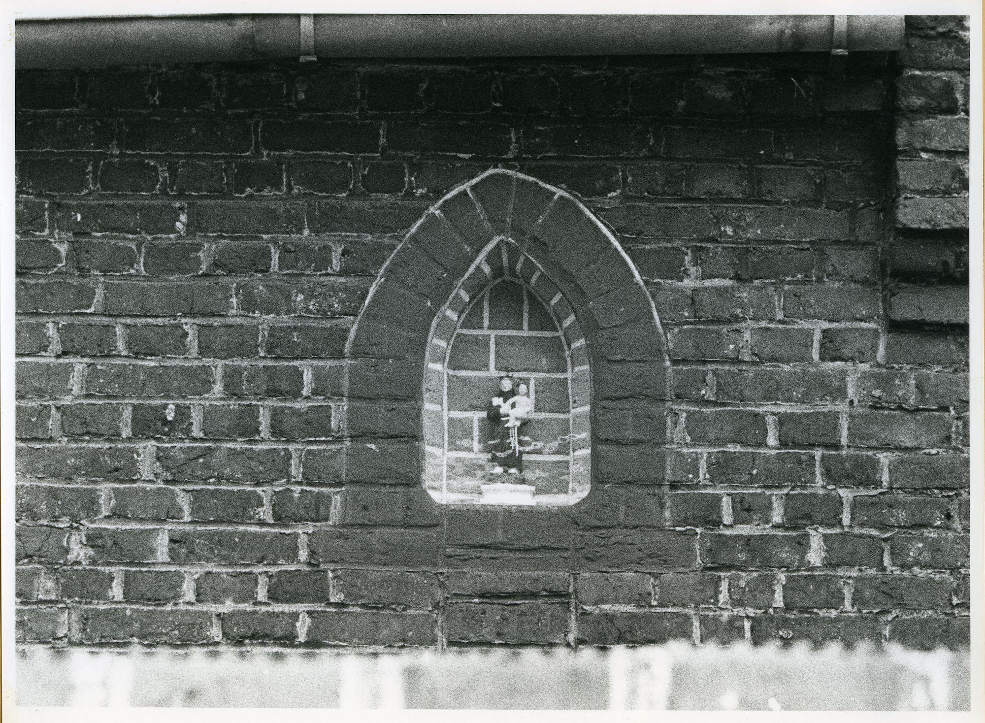 Sint-Amandsberg: Sint-Baafsstraat 30: Gevelbeeld