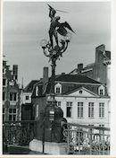 Gent: Sint Michielsbrug: Lantaarnpaal