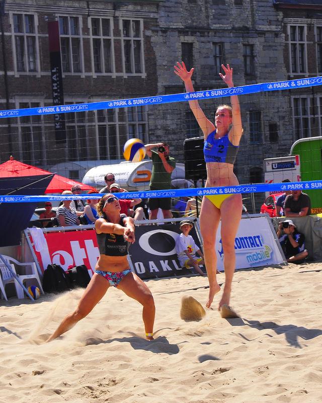 Belgian Beachvolley Championship 2012 - Gent 07