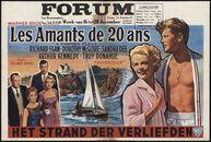 A Summer Place   Les amants de 20 ans   Het strand der verliefden, Forum, Gent, 16 - 20 december 1960
