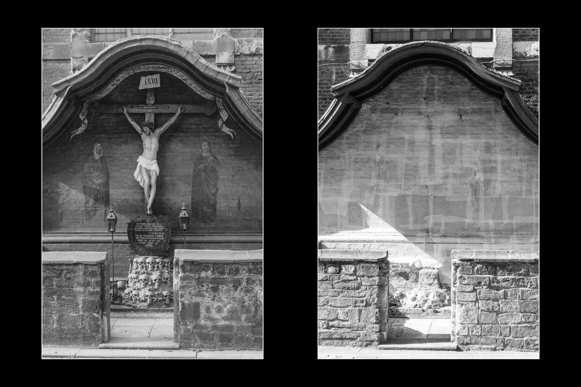 Gentse stadsgezichten, vroeger en vandaag