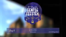 Gentse Feesten 2014 dag8 Arteveldehogeschool.mov