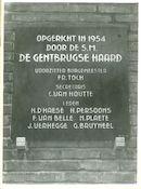 Gentbrugge: Tuinwijk Warande 41: Gedenksteen, 1979