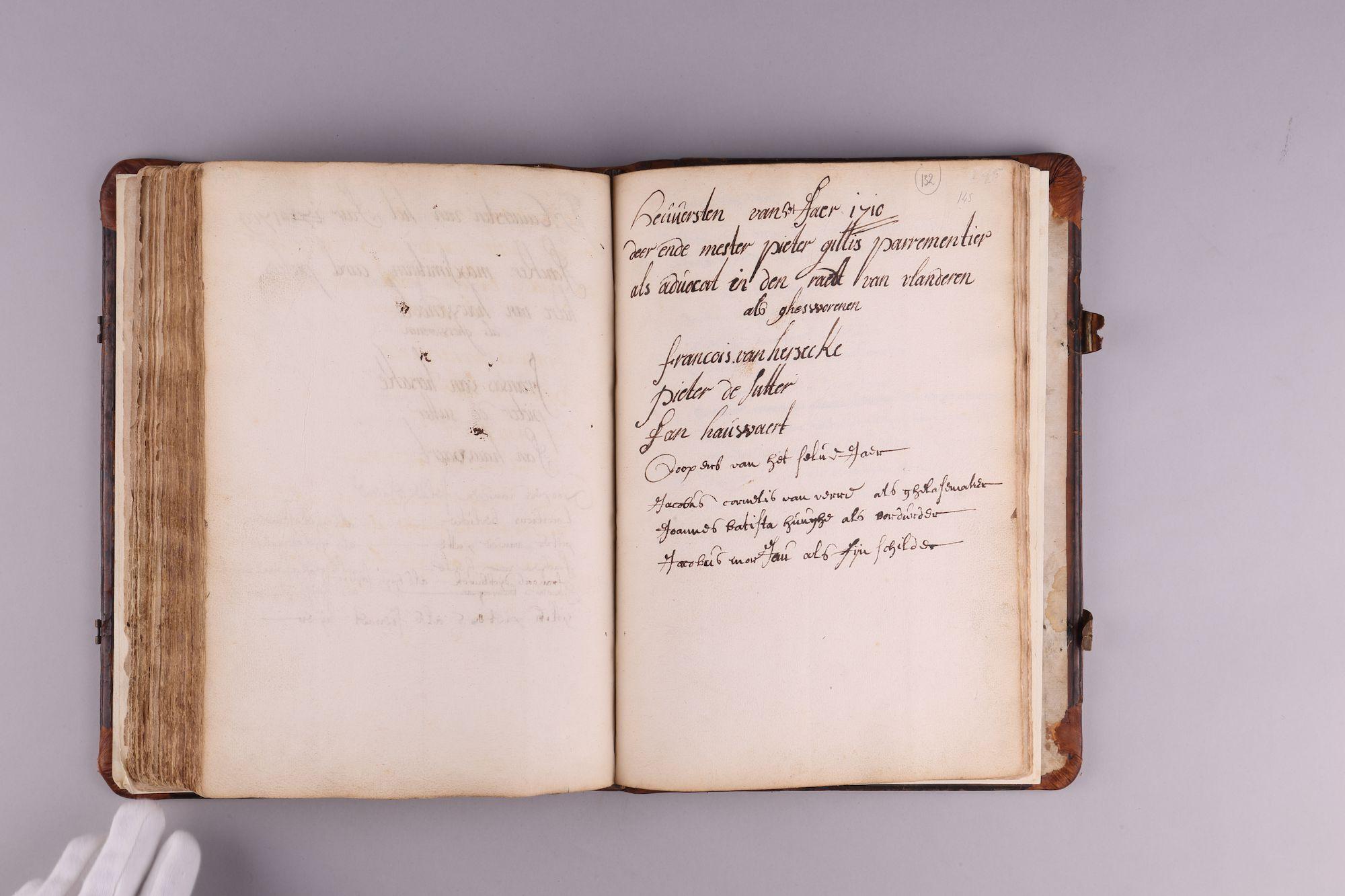 Register van het ambacht van de schilders van Gent, 1388-1733