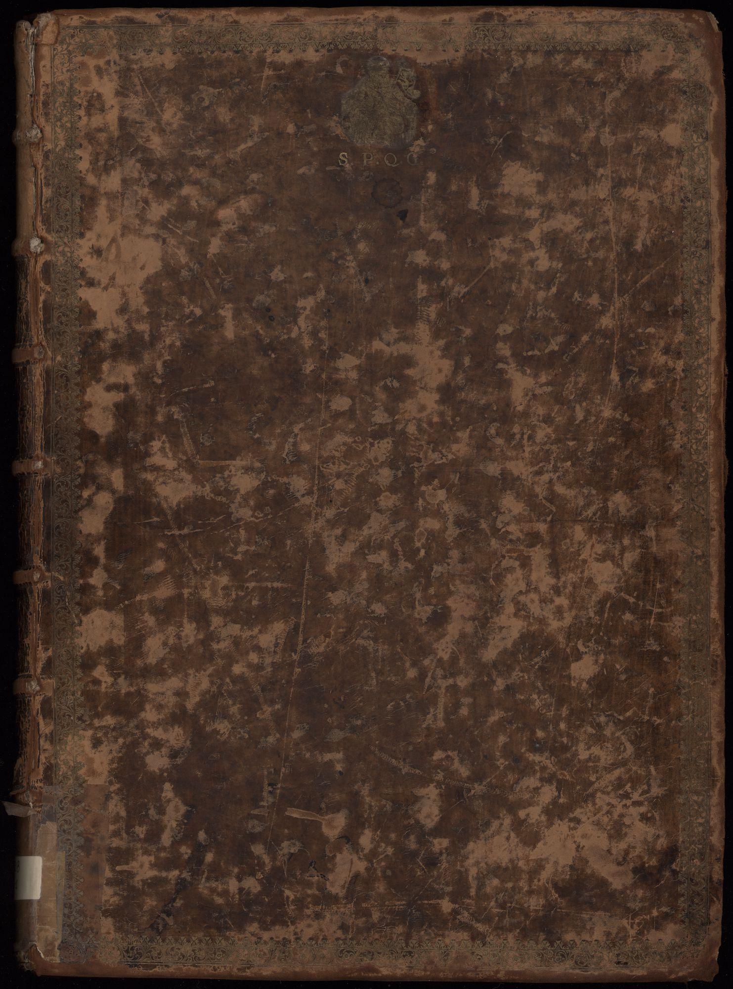 Kaartenboek van de Gentse stadsversterkingen door Jan de Buck, 1590
