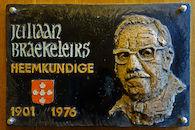 Gedenkplaat - Juliaan Braekeleirs