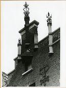 Gent: Eendrachtstraat 168: nokversiering, 1979