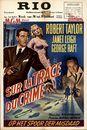 "Sur la Trace du Crime | op het spoor der misdaad | ""Rogue Cop"", Rio, Gent 20 - 23 januari 1956"
