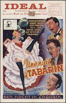 Une nuit à Tabarin | Een nacht in Tabarin, Ideal, Gent, 21 - 27 augustus 1953