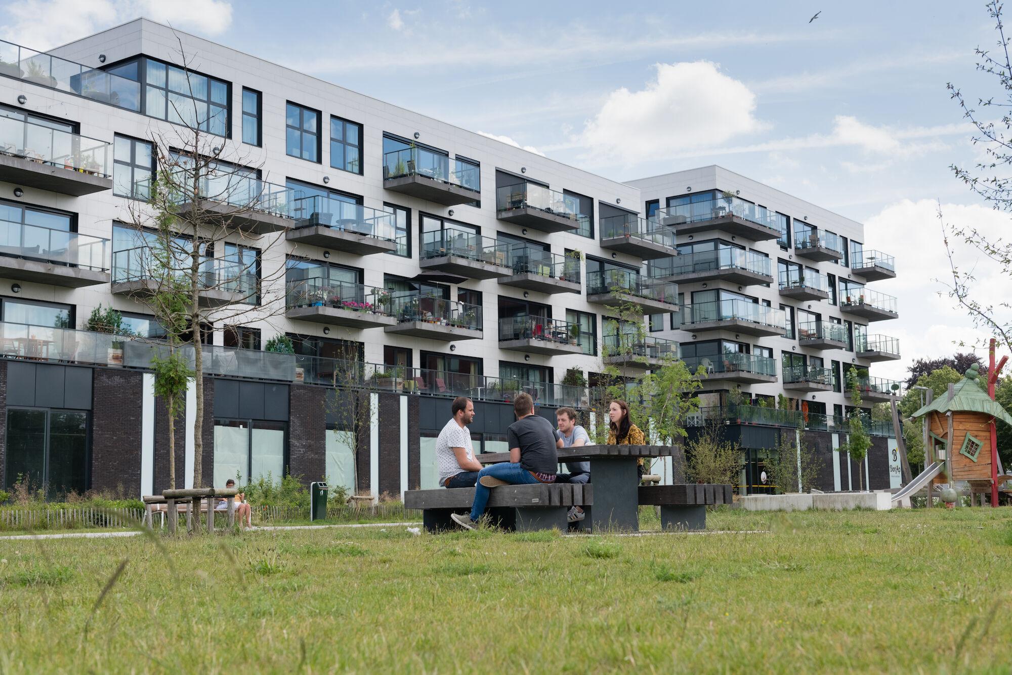 wonen-winkel Blaisantvest-IJzendijkestraat