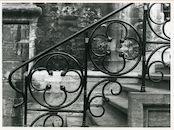 Gent: Sint Baafsplein: Trapleuning, 1979