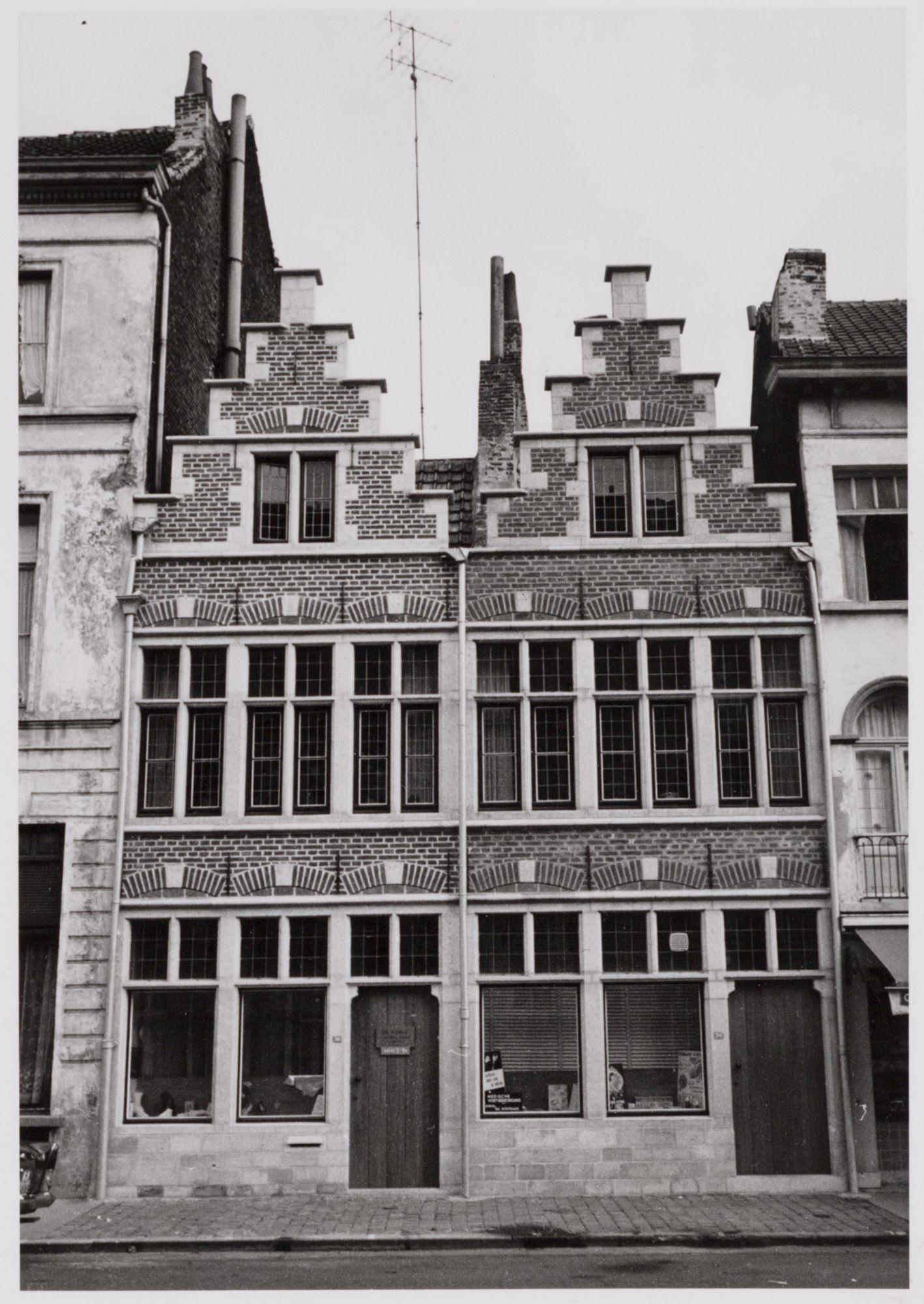 Gent: Trapgevelhuizen, Ottogracht