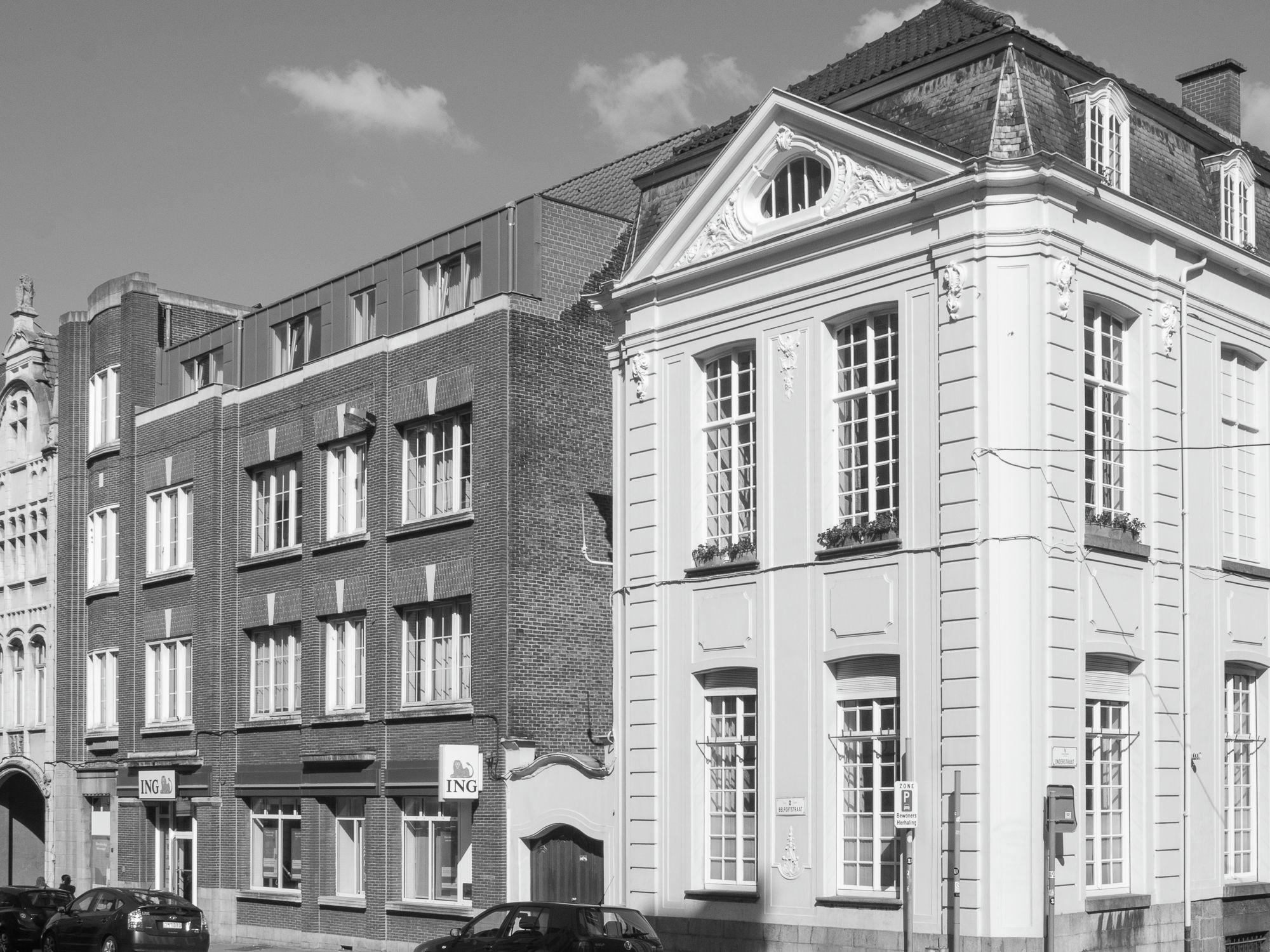 Gent: Hotel de Hemptinne, hoek Belfortstraat en Onderstraat