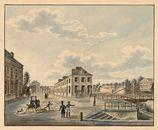 Gent: Brugsepoort en Bargiebrug aan het begin van de Brugse Vaart