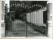 Gent: Burggravenlaan 210: Hek, 1979